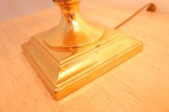 Maison Le Dauphin Pair of Elegant Table Lamps by Maison Le Dauphin France 1970s - 2037993