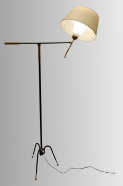 Maison Lunel T 644 floor lamp by Maison Lunel France circa 1950 - 1606187