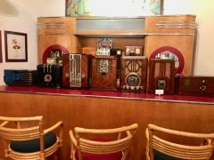 Majestic Majestic Art Deco 463 Century six 460 Desk Top Tube Radio Bluetooth - 1492566