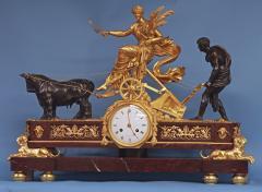 Maniere a Paris c 1815 French Monumental Empire Clock - 1276600