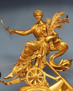 Maniere a Paris c 1815 French Monumental Empire Clock - 1276626