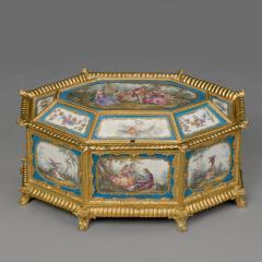 Manufacture Nationale de S vres Sevres Porcelain A Louis XVI Style S vres Style Table Box - 1076399