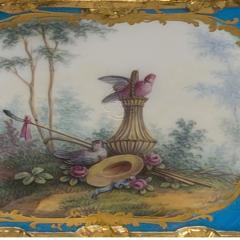 Manufacture Nationale de S vres Sevres Porcelain A Louis XVI Style S vres Style Table Box - 1076401