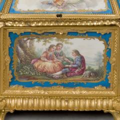 Manufacture Nationale de S vres Sevres Porcelain A Louis XVI Style S vres Style Table Box - 1076402