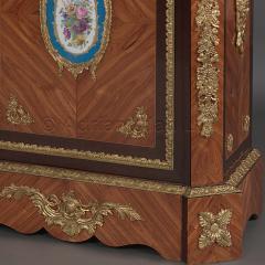 Manufacture Nationale de S vres Sevres Porcelain A Pair of Walnut Side Cabinets - 910811