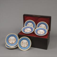 Manufacture Nationale de S vres Sevres Porcelain A Rare Set of Twelve S vres Plates - 1076387
