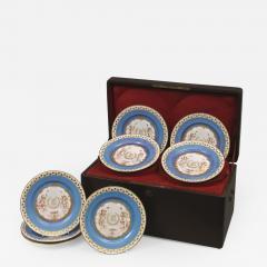 Manufacture Nationale de S vres Sevres Porcelain A Rare Set of Twelve S vres Plates - 1076808