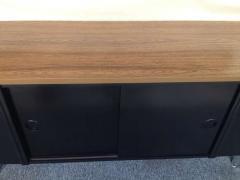 Marble Imperial Marble Imperial Black Laminate Oak Formica Top Sideboard - 80820