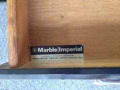 Marble Imperial Marble Imperial Black Laminate Oak Formica Top Sideboard - 80823