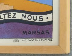 Marcas French Art Deco Vacances Poster by Marsas - 521226
