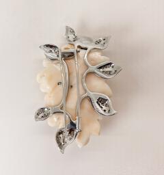 Marchak Marchak Coral Pin - 1956127