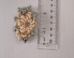 Marchak Marchak Coral Pin - 1956128