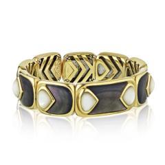 Marina B MARINA B 18K YELLOW GOLD EXPANDABLE CUFF BANGLE BRACELET - 1744604
