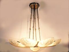 Marius Ernest Sabino Gorgeous Art Deco Chandelier by Sabino - 1786462