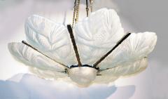 Marius Ernest Sabino Gorgeous Art Deco Chandelier by Sabino - 1786465