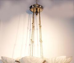 Marius Ernest Sabino Gorgeous Art Deco Chandelier by Sabino - 1786467