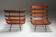 Martin Eisler Carlo Hauner Eisler and Hauner Costela Lounge Chairs 1960s - 1691710