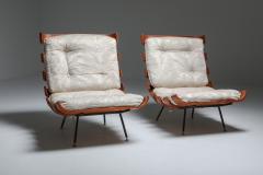 Martin Eisler Carlo Hauner Eisler and Hauner Costela Lounge Chairs 1960s - 1691713