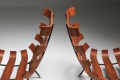 Martin Eisler Carlo Hauner Eisler and Hauner Costela Lounge Chairs 1960s - 1691715