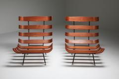 Martin Eisler Carlo Hauner Eisler and Hauner Costela Lounge Chairs 1960s - 1691720