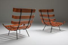 Martin Eisler Carlo Hauner Eisler and Hauner Costela Lounge Chairs 1960s - 1691721