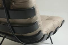 Martin Eisler Carlo Hauner Mid Century Modern Costela Lounge Chair Carlo Hauner Martin Eisler Set of 2  - 1212761