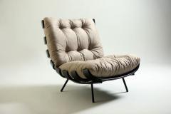 Martin Eisler Carlo Hauner Mid Century Modern Costela Lounge Chair Carlo Hauner Martin Eisler Set of 2  - 1212763