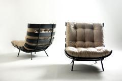 Martin Eisler Carlo Hauner Mid Century Modern Costela Lounge Chair Carlo Hauner Martin Eisler Set of 2  - 1225019