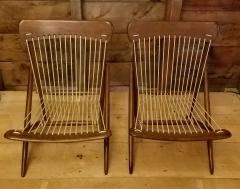 Maruni Studio Maruni Style Lounge Chairs Japan 1960s - 1661607