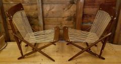 Maruni Studio Maruni Style Lounge Chairs Japan 1960s - 1661611