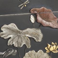 Masayoshi An exquisite miniature Japanese silver and multi metal miniature Koro - 1779389