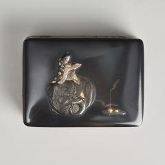 Masayoshi An exquisite miniature Japanese silver and multi metal miniature Koro - 1779391