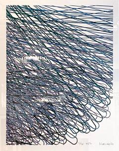 Mashiko Japanese Abstract Expressionist Serigraph Signed Numbered Mashiko  - 1467499