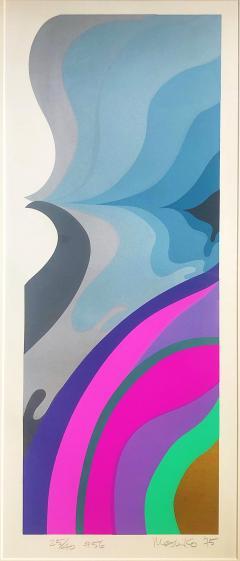 Mashiko Japanese Abstract Expressionist Serigraphs Signed Numbered Mashiko  - 1346493