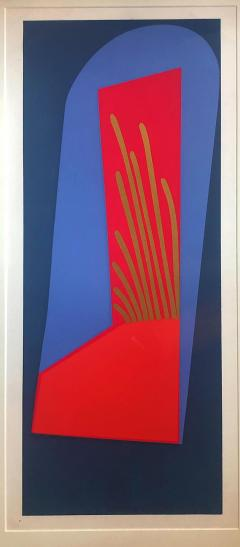 Mashiko Japanese Abstract Expressionist Serigraphs Signed Numbered Mashiko  - 1350002