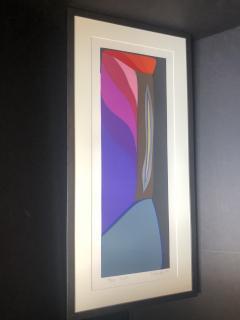 Mashiko Japanese Abstract Expressionist Serigraphs Signed Numbered Mashiko  - 1350012