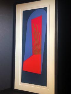 Mashiko Japanese Abstract Expressionist Serigraphs Signed Numbered Mashiko  - 1350034