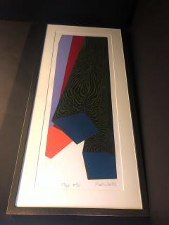 Mashiko Japanese Abstract Expressionist Serigraphs Signed Numbered Mashiko  - 1350036
