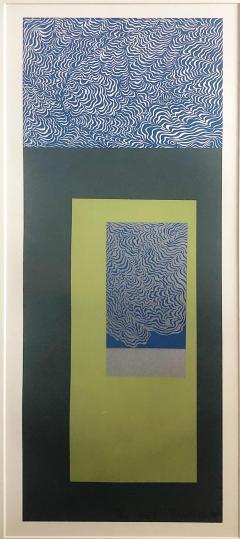 Mashiko Japanese Abstract Expressionist Serigraphs Signed Numbered Mashiko  - 1369061