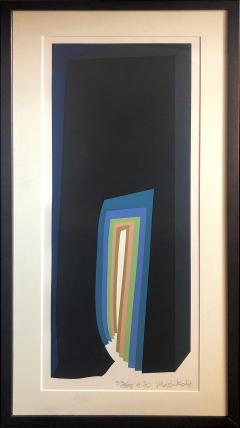 Mashiko Japanese Abstract Expressionist Serigraphs Signed Numbered Mashiko  - 1369062
