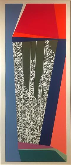 Mashiko Japanese Abstract Expressionist Serigraphs Signed Numbered Mashiko  - 1369064