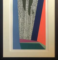 Mashiko Japanese Abstract Expressionist Serigraphs Signed Numbered Mashiko  - 1369066