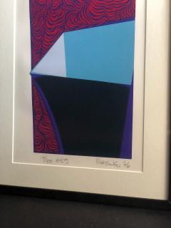 Mashiko Japanese Abstract Expressionist Serigraphs Signed Numbered Mashiko  - 1369067