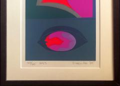 Mashiko Japanese Abstract Expressionist Serigraphs Signed Numbered Mashiko  - 1369071
