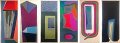 Mashiko Japanese Abstract Expressionist Serigraphs Signed Numbered Mashiko  - 1369959