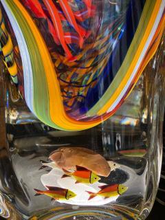Massimiliano Schiavon One of a Kind Murano Vase by Schiavon - 2138138