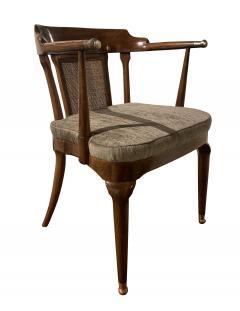 Mastercraft A Rare Pair of Walnut Arm Chairs by Mastercraft - 1821316
