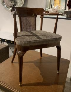 Mastercraft A Rare Pair of Walnut Arm Chairs by Mastercraft - 1821319