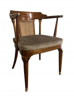 Mastercraft A Rare Pair of Walnut Arm Chairs by Mastercraft - 1821323