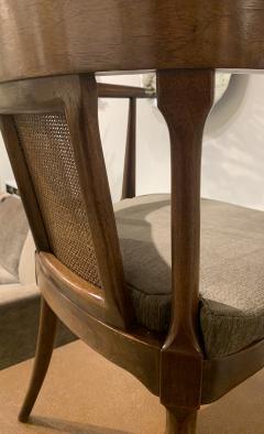 Mastercraft A Rare Pair of Walnut Arm Chairs by Mastercraft - 1821324